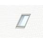 Raccordement individuel 55 cm x 118 cm Profilés en aluminium pour matériaux plats jusqu'à 16 mm (2x8 mm) Montage abaissé (ligne bleue)